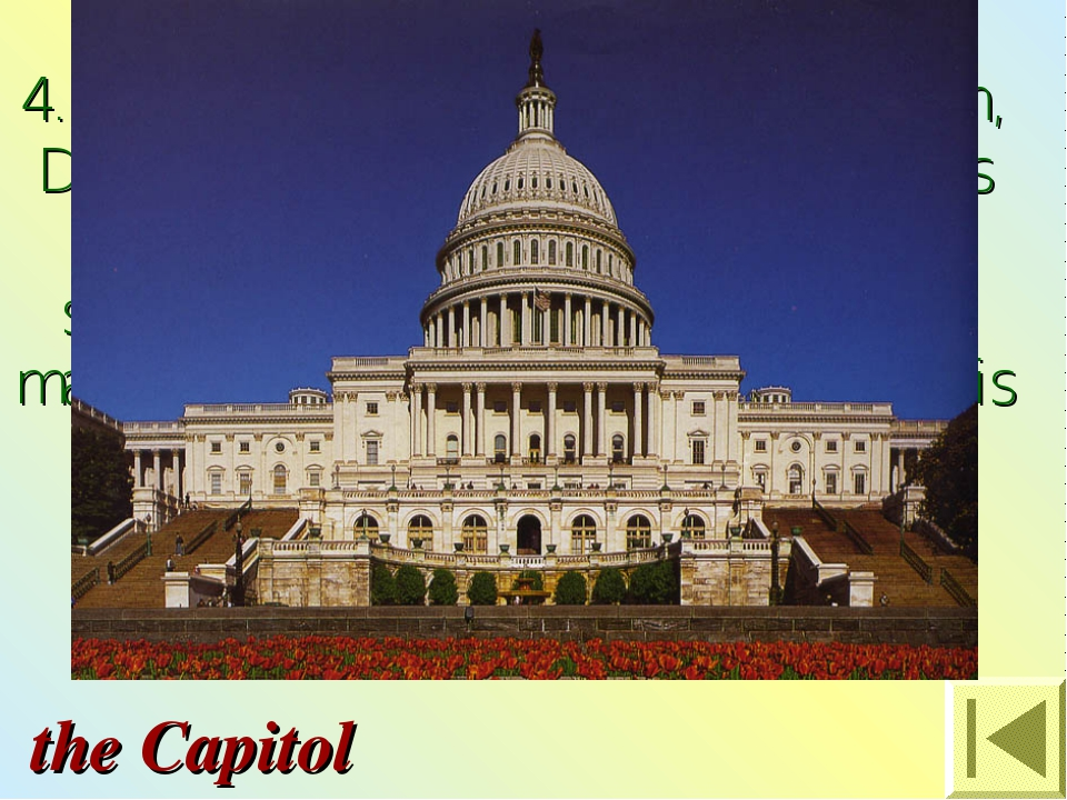 4. It is the tallest building in Washington, D.C. and the most famous buildin...