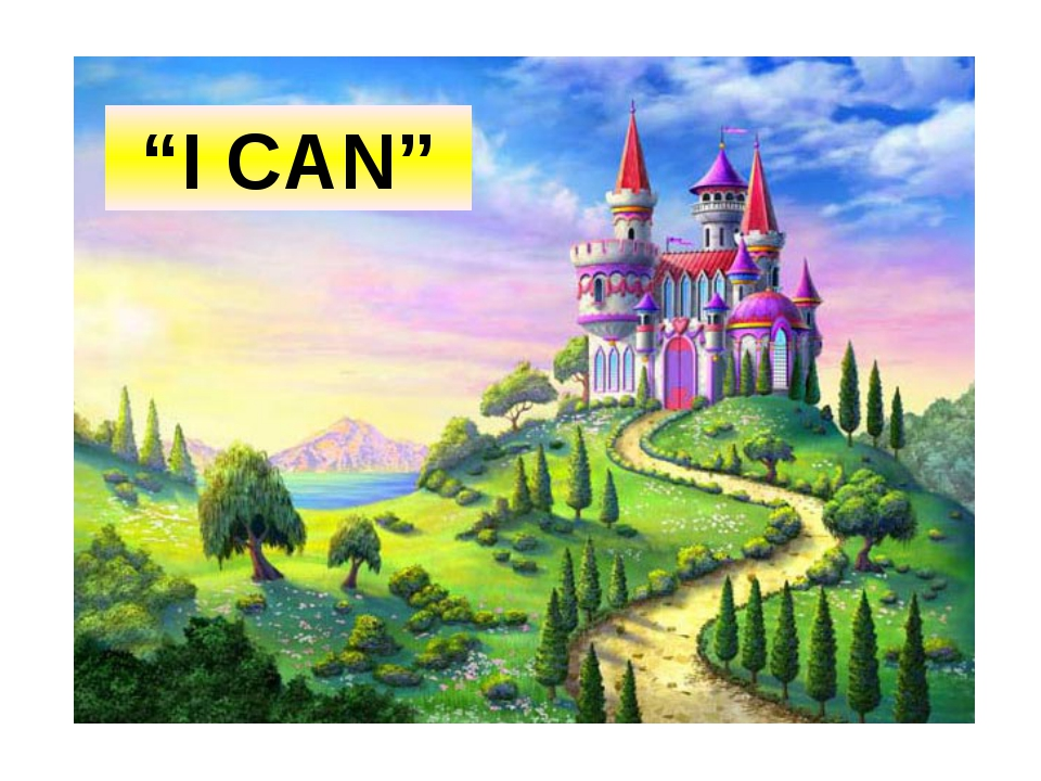 """I CAN"""