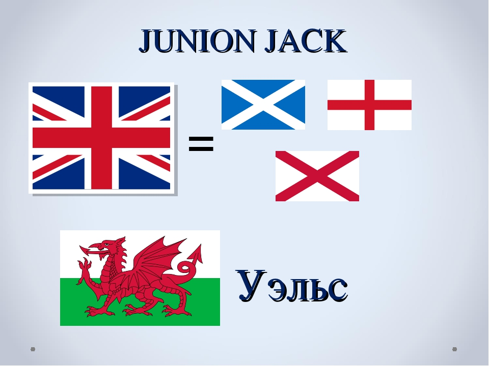 JUNION JACK = Уэльс