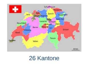 26 Kantone