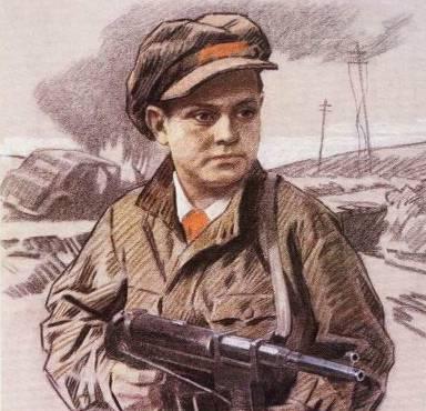 Пионер-герой Леня Голиков