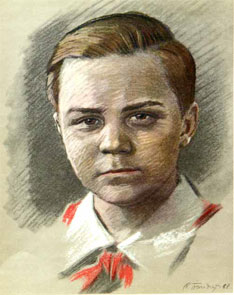 Пионер-герой Витя Хоменко