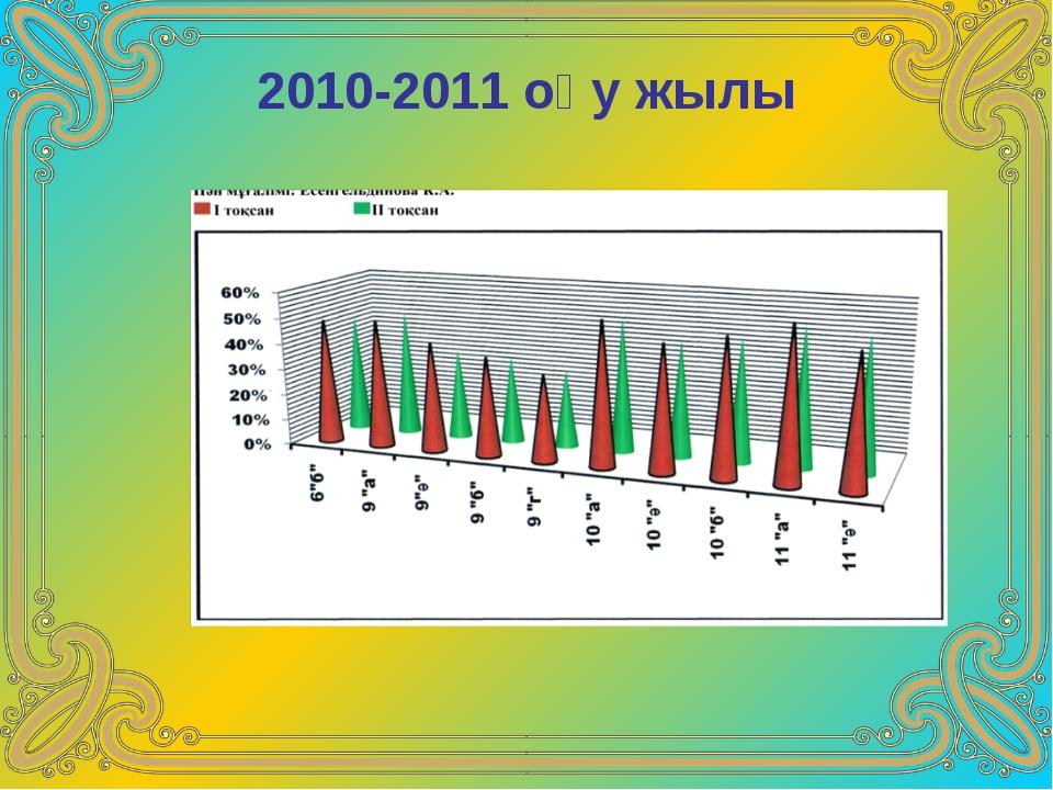 2010-2011 оқу жылы