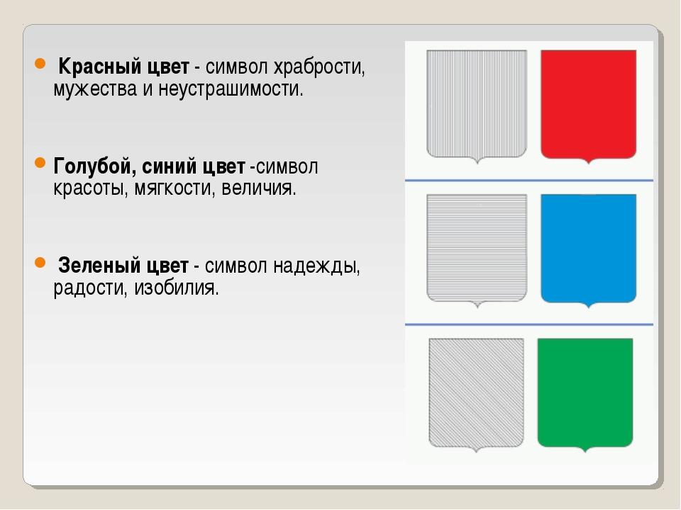 Красный цвет - символ храбрости, мужества и неустрашимости. Голубой, синий ц...