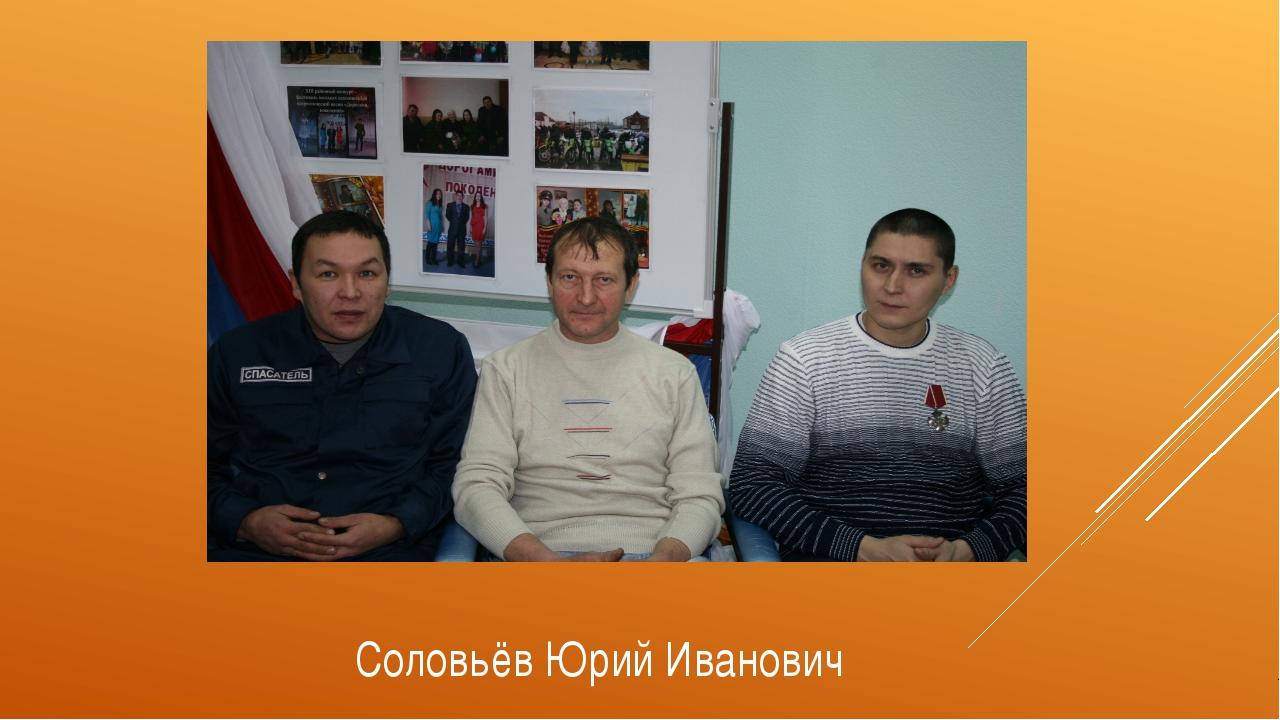 Соловьёв Юрий Иванович