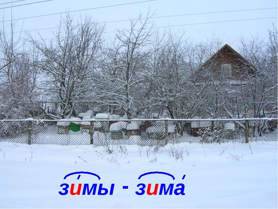 зимы зима -
