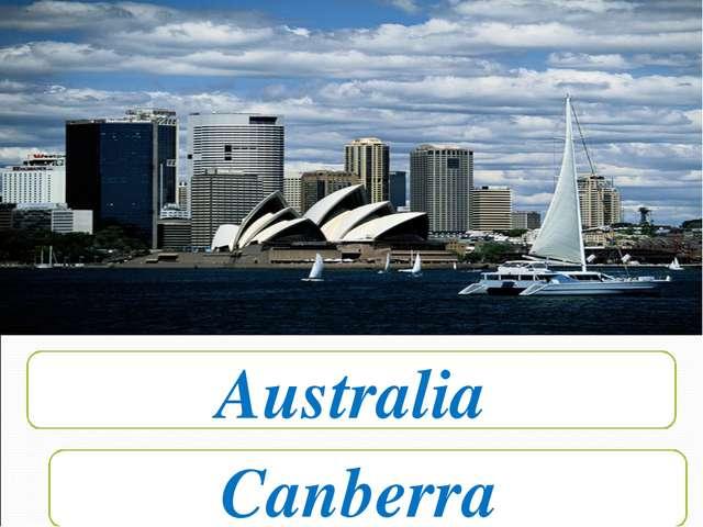 Australia Canberra