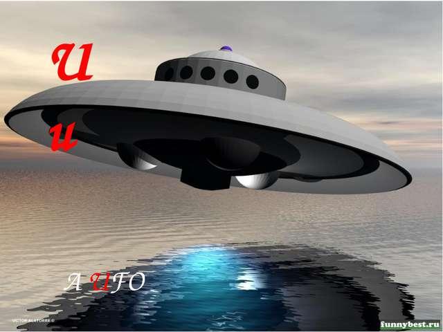 Uu A UFO