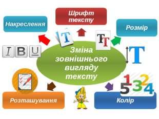 """Учитель інформатики ВРГ """"Інтелект"""" Соболь-Хоменко С.В. Зміна зовнішнього вигл"""