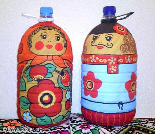 Поделки из пластиковых больших бутылок