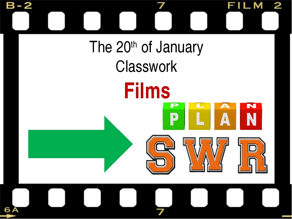The 20th of January Classwork Films