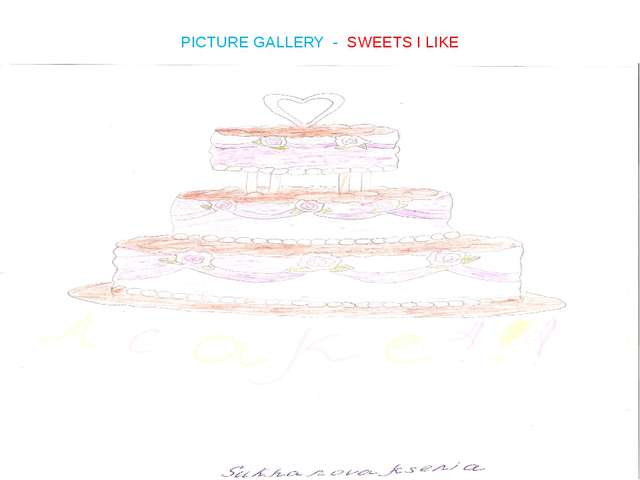 PICTURE GALLERY - SWEETS I LIKE