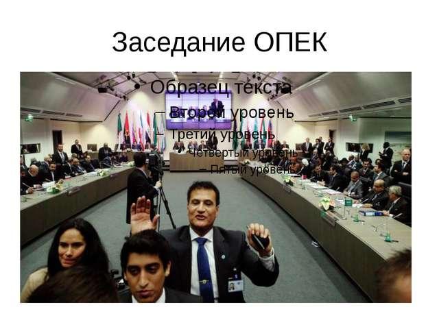 Заседание ОПЕК