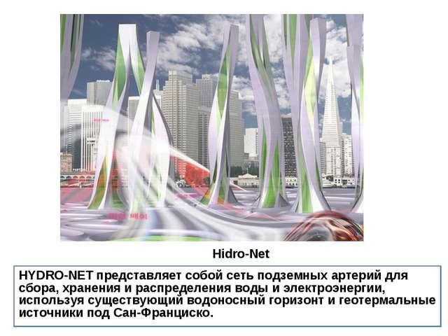 Hidro-Net HYDRO-NETпредставляет собой сеть подземных артерий для сбора, хра...