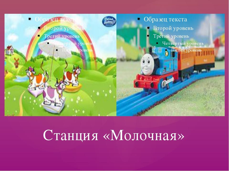 Станция «Молочная»
