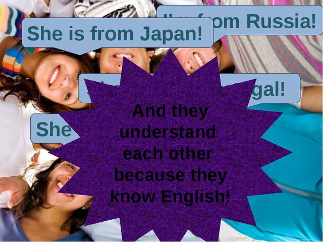 English language is a language of communication with people on the Earth -Здр...