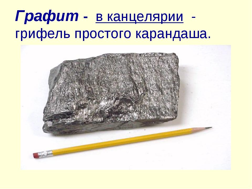 Из чего и как сделан карандаш простой