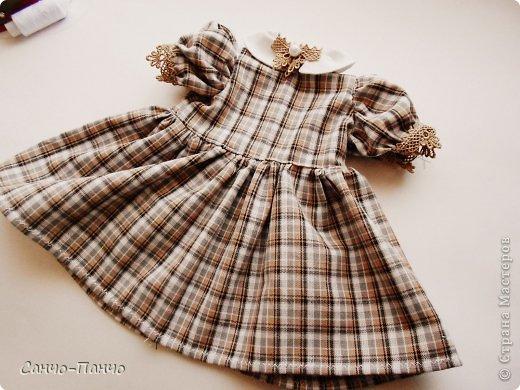 Платье для куклы своими руками МК и выкройка Магический декор