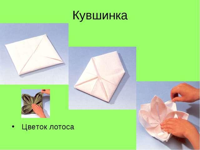 Кувшинка Цветок лотоса