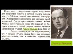 Чарльз Бахман