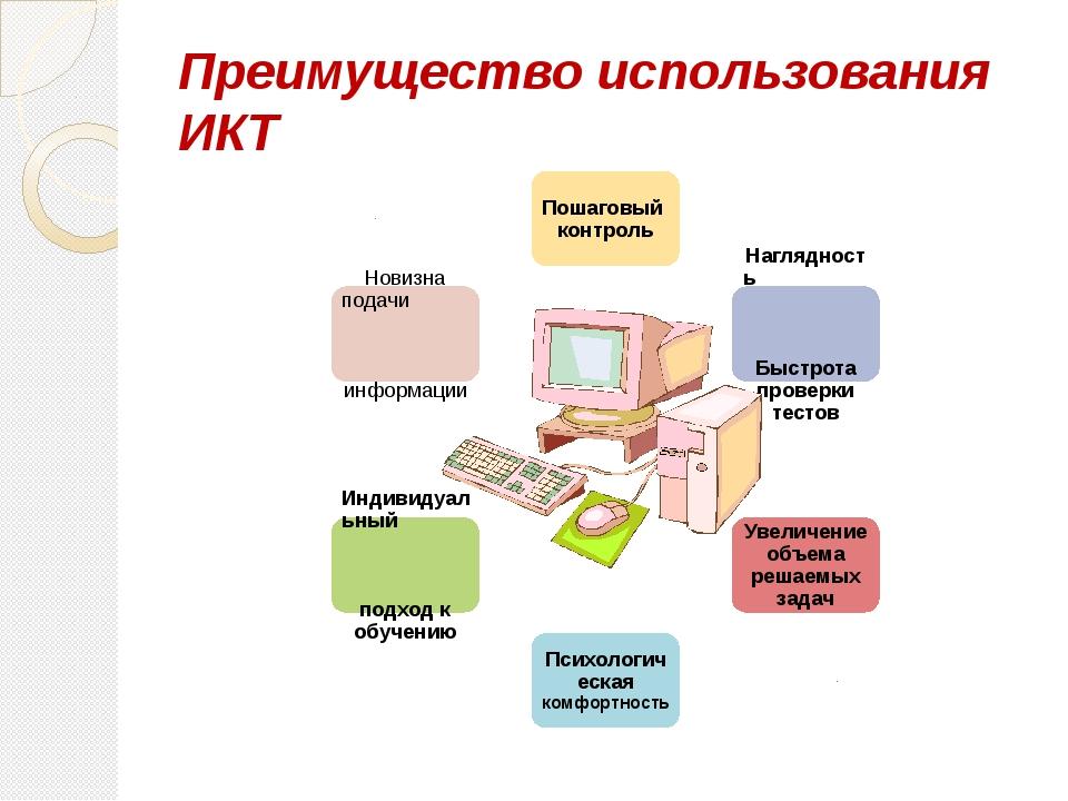 Преимущество использования ИКТ