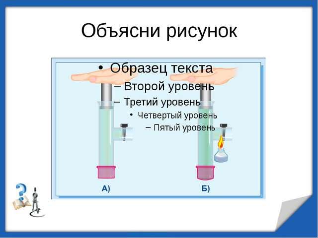 Объясни рисунок