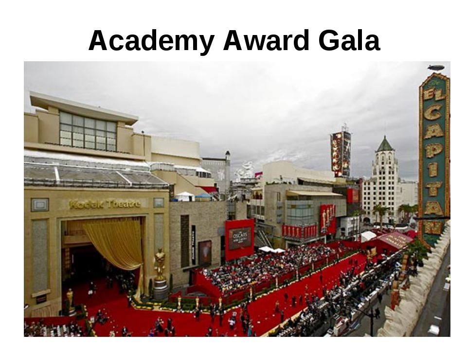 Academy Award Gala