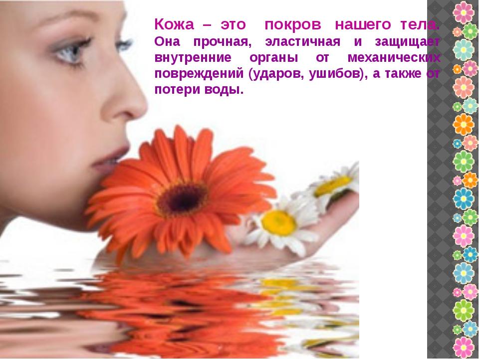 Кожа – это покров нашего тела. Она прочная, эластичная и защищает внутренние...