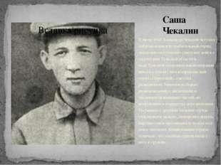Саша Чекалин В июле1941Александр Чекалин вступил добровольцем в истребитель