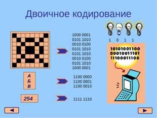 Двоичное кодирование 1000 0001 0101 1010 0010 0100 0101 1010 0101 1010 0010 0