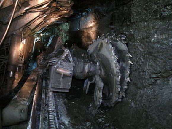 На шахте