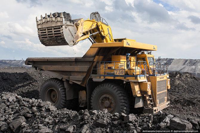 Путешествие на угольный разрез в Казахстане