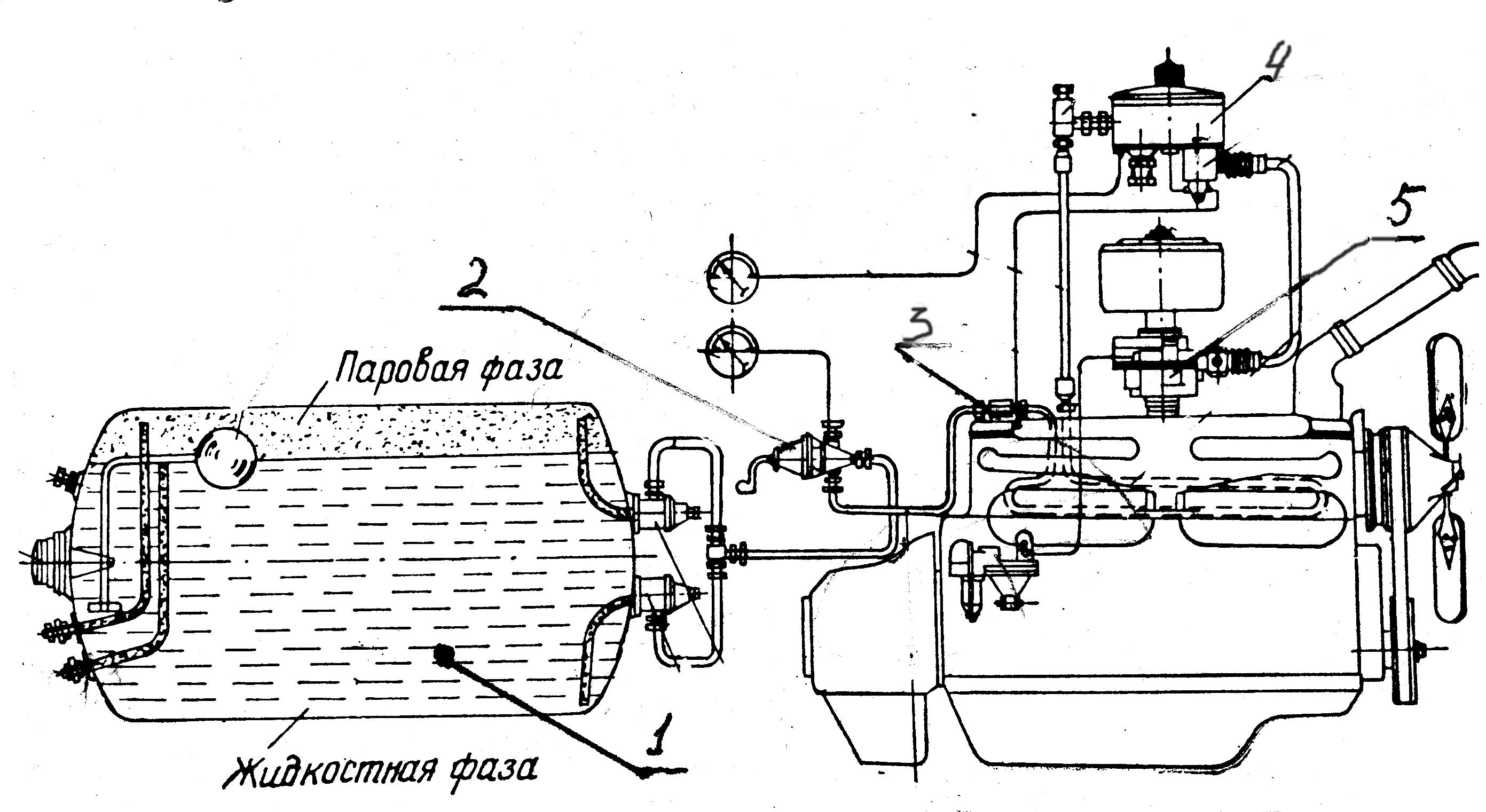 общее устройство глушителя на 405 двигателе газ схема