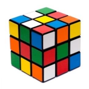 Головоломки в виде цветных квадратов - Стоковое векторное изображение Юрий Майборода #3207725