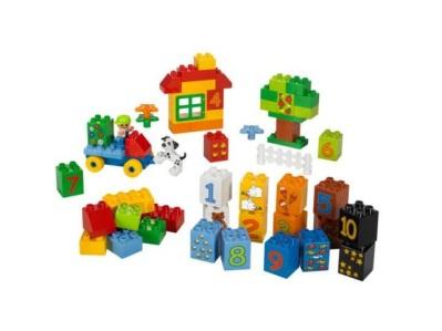 Конструктор Lego Duplo Играй с цифрами в Первоуральске - купить Lego Duplo Играй с цифрами (5497) по цене 570 р. в интернет-мага