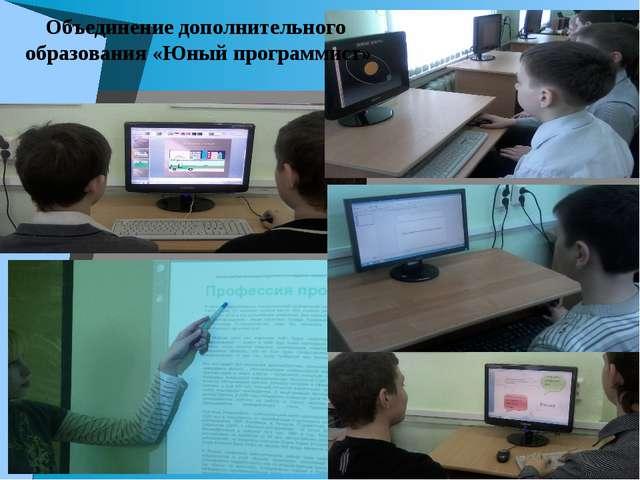 Объединение дополнительного образования «Юный программист»