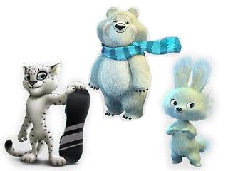 Талисманы Зимних Олимпийских игр 2014 года