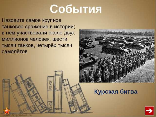 События Продолжительность Курской битвы? В советской и российской историограф...