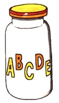 Описание: Пузырек с витаминами