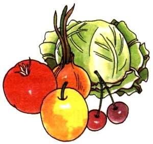 Описание: Фрукты и овощи