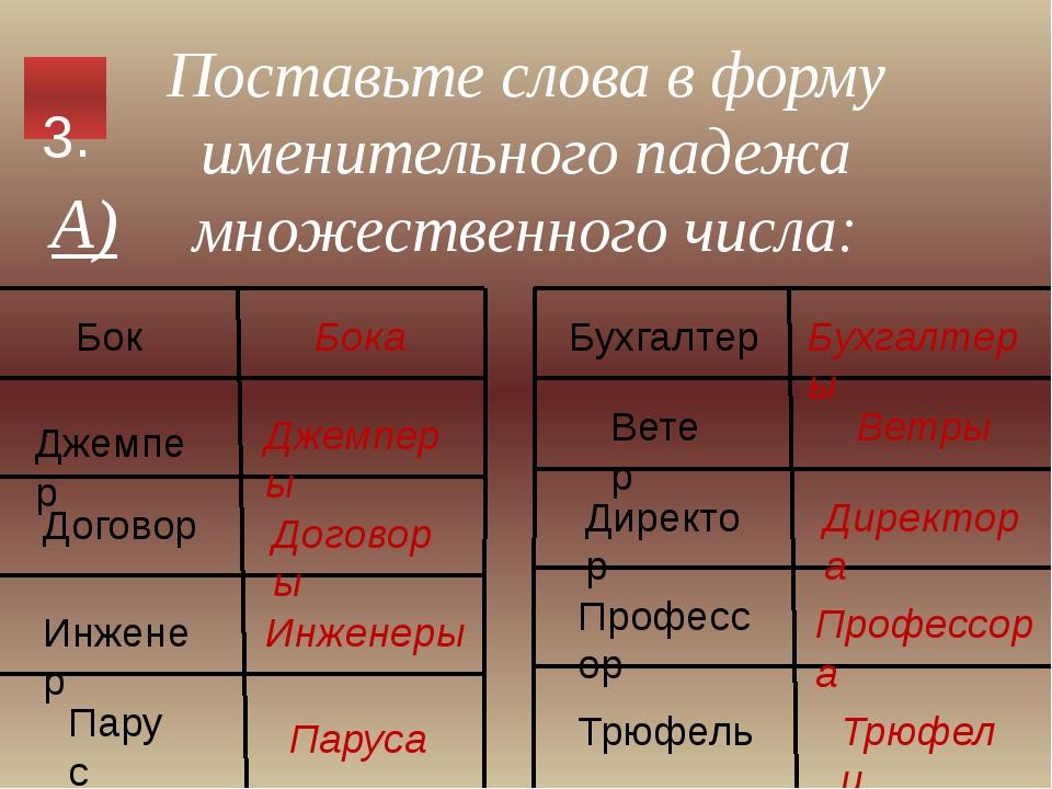 Определите частеречную принадлежность выделенных слов А) Чиновник продвигался...