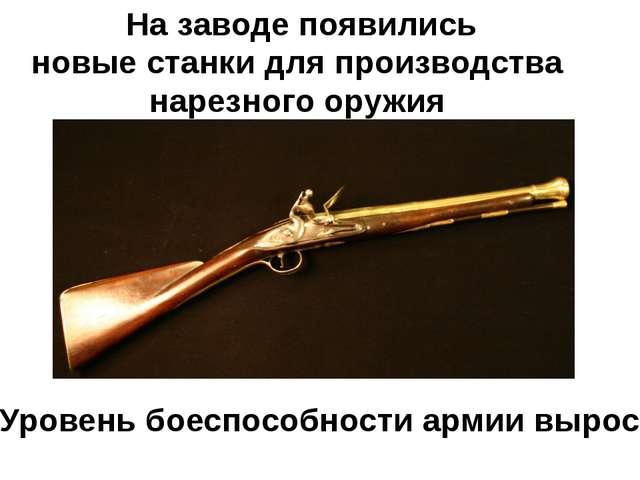 На заводе появились новые станки для производства нарезного оружия Уровень бо...