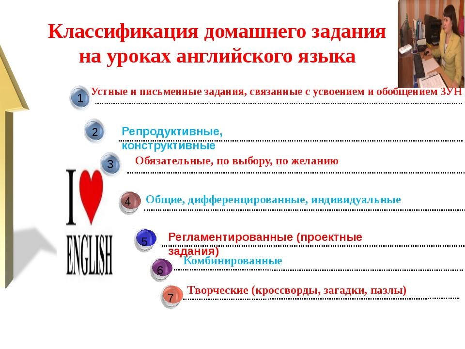 Творческие (кроссворды, загадки, пазлы) Общие, дифференцированные, индивидуа...