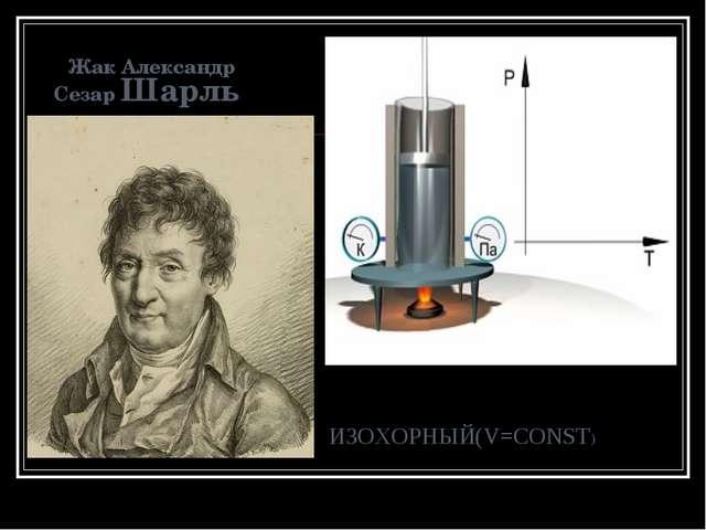 Жак Александр Сезар Шарль ИЗОХОРНЫЙ(V=CONST)