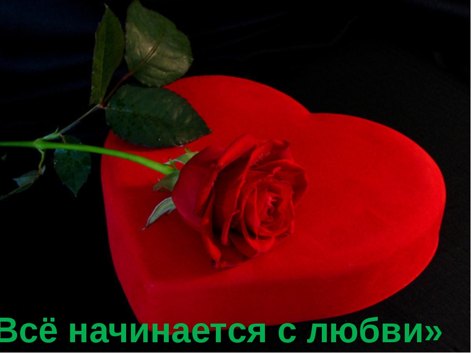 «Всё начинается с любви»