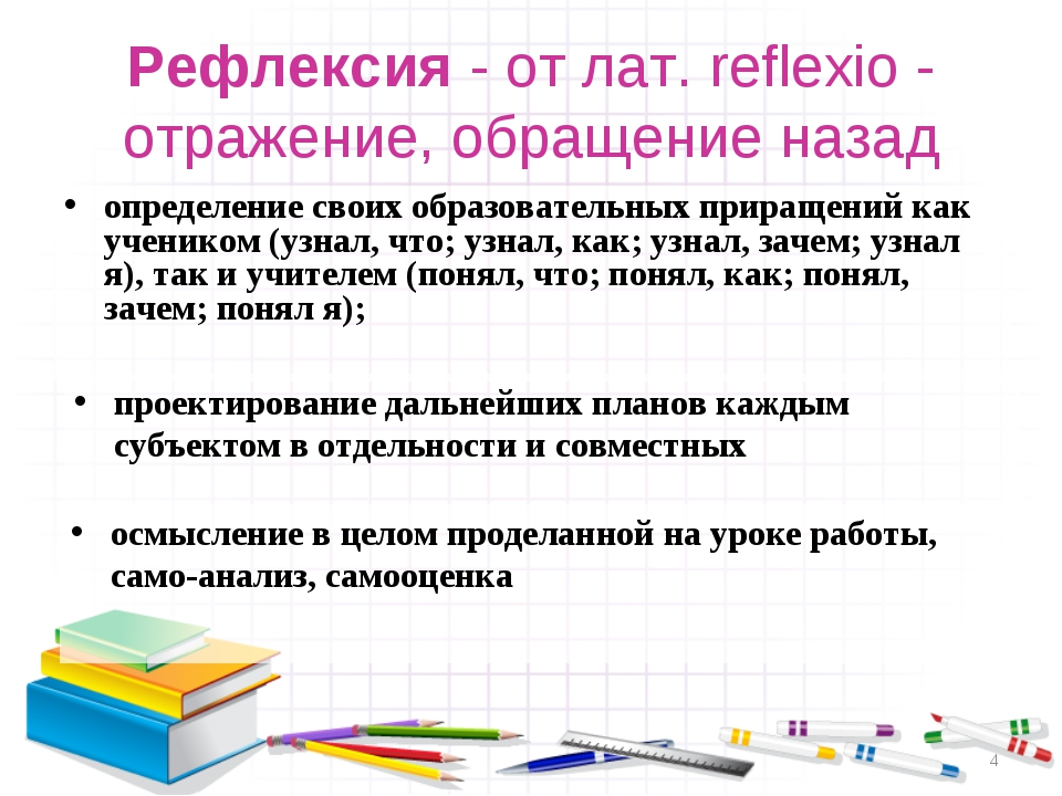 определение своих образовательных приращений как учеником (узнал, что; узнал,...