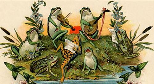 Лягушачий концерт (Сергей Брандт) / Стихи.ру - национальный сервер современной поэзии