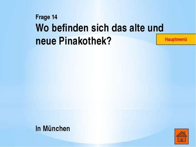 Frage 4 Weimar Hauptmenü
