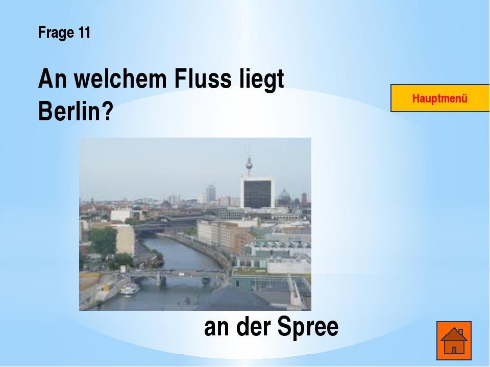 Frage 14 Hauptmenü