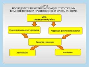 Цель коррекционной работы технические наглядные Коррекция психического развит